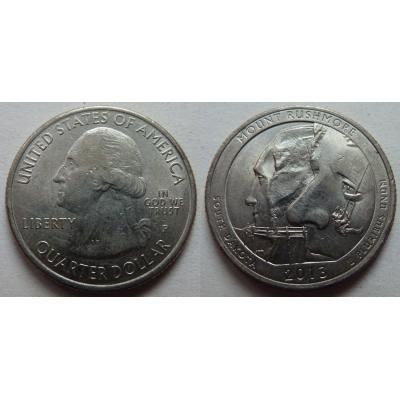 Spojené státy americké - 1/4 dolaru 2013