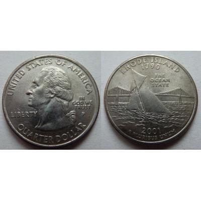 Spojené státy americké - 1/4 dolaru 2001