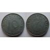 Nacistické Německo - 10 pfennig 1943 B