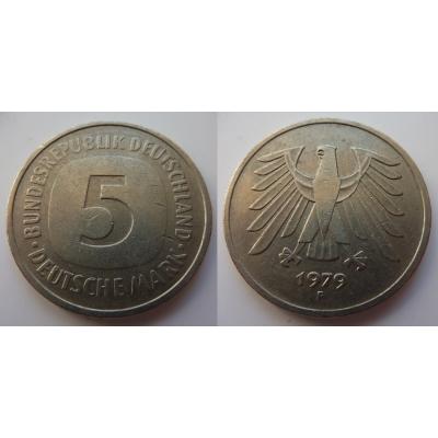 Německo - 5 Mark 1979 F