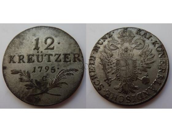František I. - 12 krejcarů 1795 C