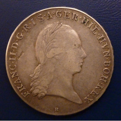 Křžový tolar 1797 B