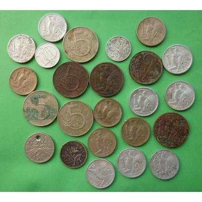 Konvolut mincí Československo