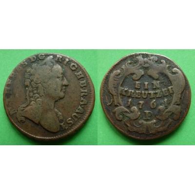 1 krejcar 1761