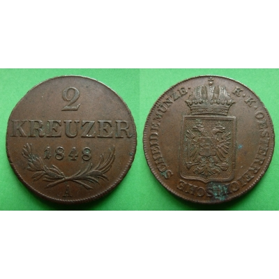 Ferdinand V. - 2 krejcary 1848