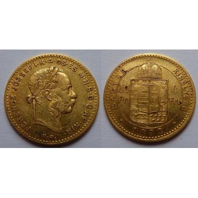 František Josef I. - 4 zlatník 1882 KB