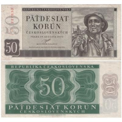 50 Kronen 1950