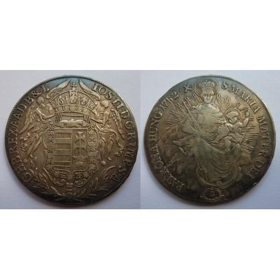 Josef II. - stříbrný tolar 1782 B Kremnica