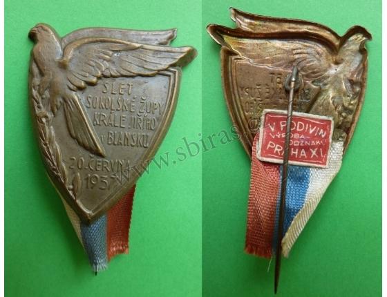 Blansko - Slet sokolské župy krále Jiřího 1937