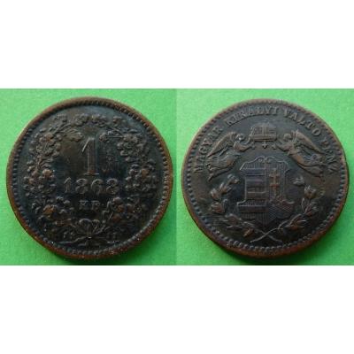 1 Kreuzer 1868