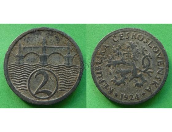 2 haléře 1924