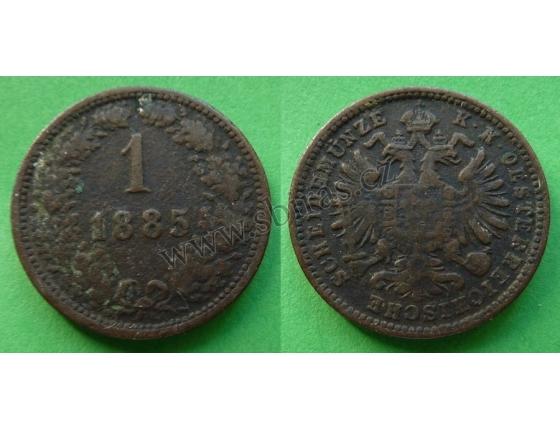 1 Kreuzer 1885