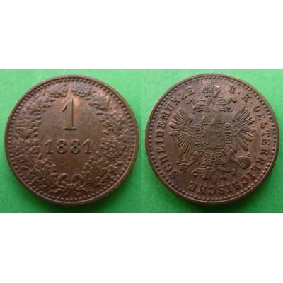 1 Kreuzer 1881