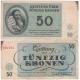Terezínské gheto - 50 korun 1943