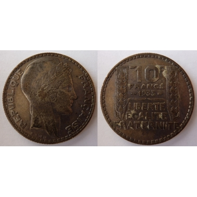 Francie - 10 franků 1933