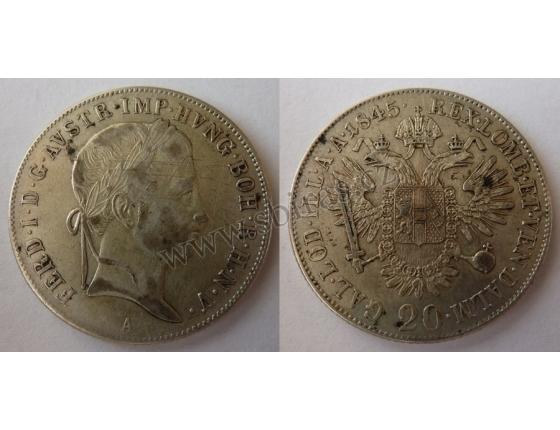Ferdinand V. - 20 krejcarů 1845 A