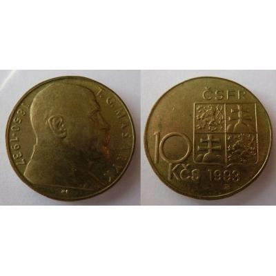 10 korun 1993 - T.G. Masaryk