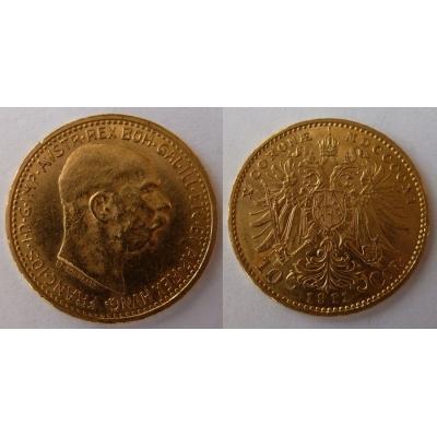 František Josef I. - 10 korun 1911