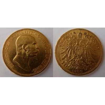 František Josef I. - 10 korun 1909