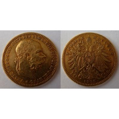 František Josef I. - 10 korun 1905