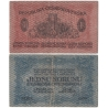 Czechoslovakia - 1st banknote issue: 1 crown 1919