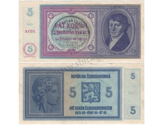 5 crowns 1938