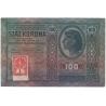 100 korun 1912, vzácný zoubkovaný kolek