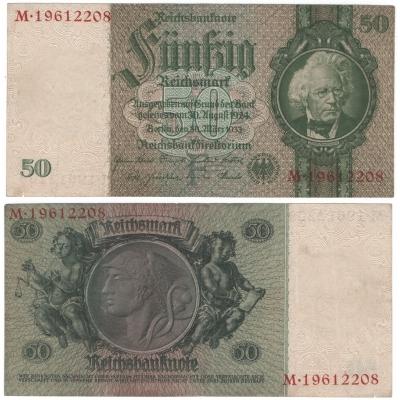 Reichsbanknote 50 Mark 1933