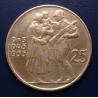 25 korun 1955 - 10. výročí osvobození