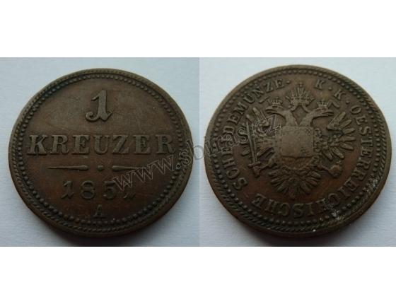 1 Kreuzer 1851
