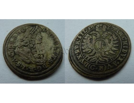 Leopold I. - 1 krejcar 1697