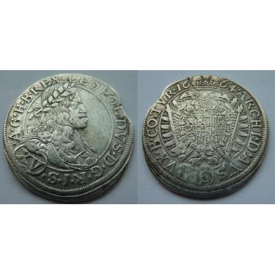 Leopold I. - XV krejcar 1664