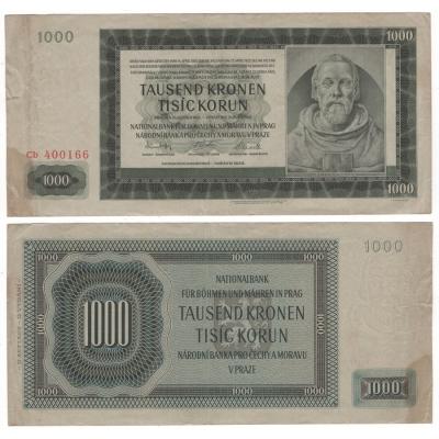 1000 korun 1942 Cb