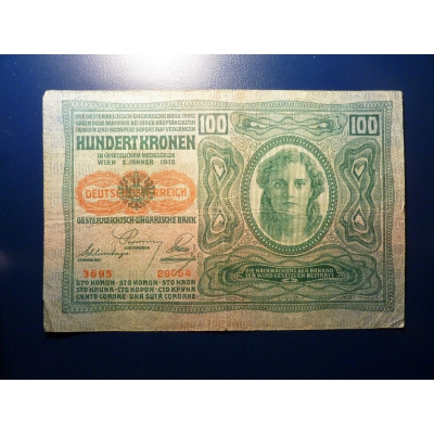 100 korun 1912