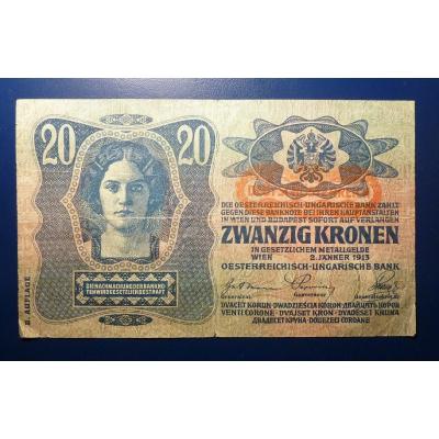 20 korun 1913