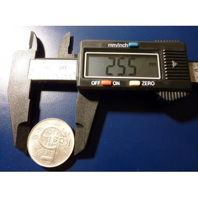 Digitální měřítko na mince