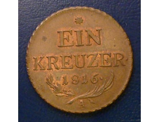 1 Krejcar 1816