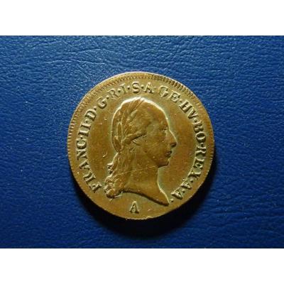 František I. - mince 1/2 krejcar 1800