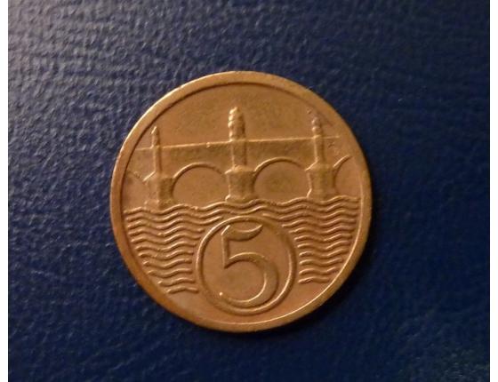 5 haléřů 1931