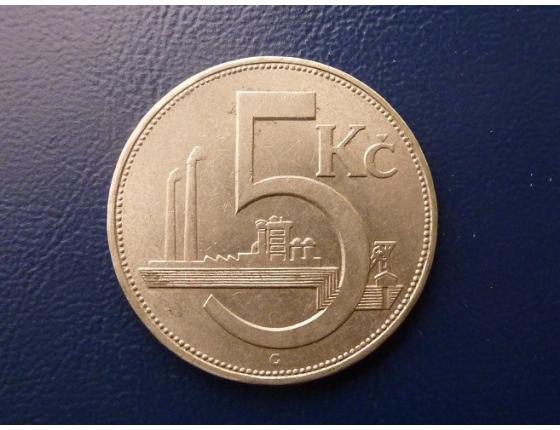 5 Kronen 1938