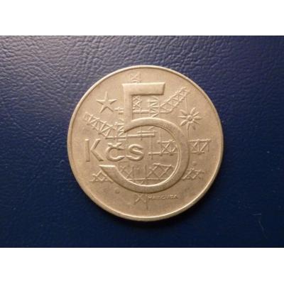 5 korun 1975