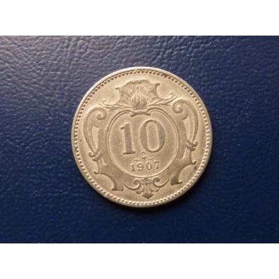 10 haléřů 1907
