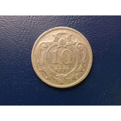 10 haléřů 1911