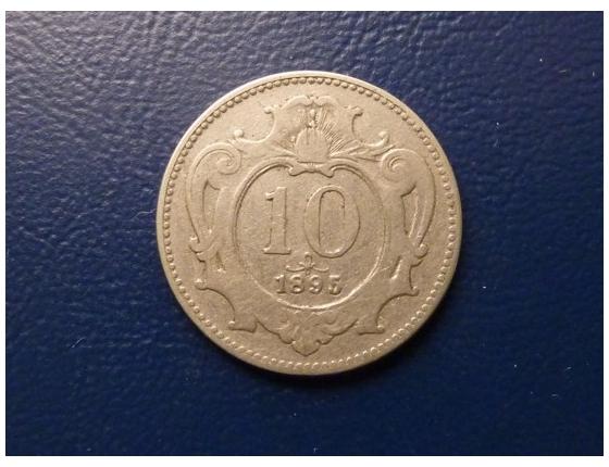 10 haléřů 1895