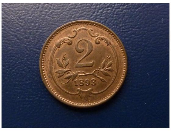 2 haléře 1893