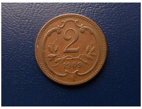 2 haléře 1909