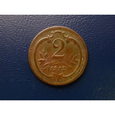 2 haléře 1912
