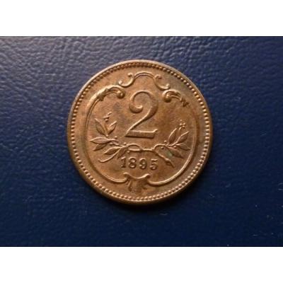 2 haléře 1895