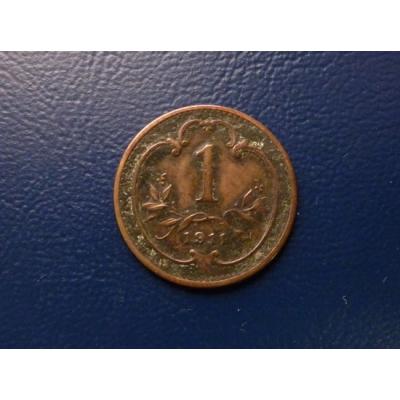 1 haléř 1911