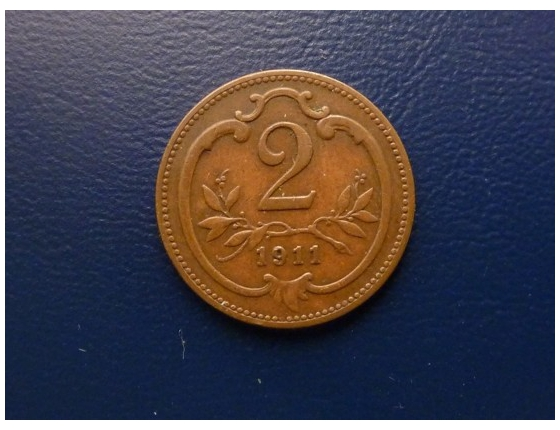 2 haléře 1911
